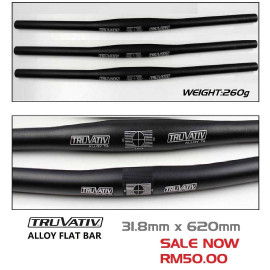 image of TRUVATIV SRAM ALLOY FLAT BAR 31.8mm x 620mm
