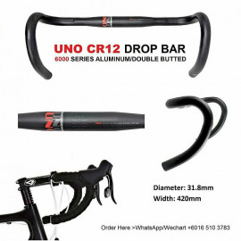 image of UNO CR12 ALLOY DROP BAR 31.8mm/420mm