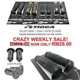 image of Original Tioga Plug Grips + Bar End Locking Plugs