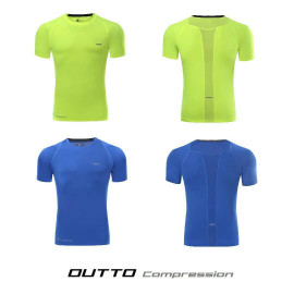 image of OUTTO COMPRESSION SHORT SLEEVE