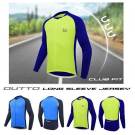 image of OUTTO CLUB FIT LONG SLEEVE JERSEY
