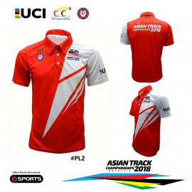 image of ASIAN TRACK CHAMPIONSHIPS SUBLIMATION POLO SHIRT