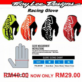 image of TLD RACING FULL FINGER GLOVE