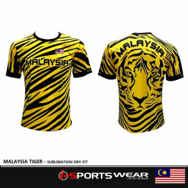 image of MALAYSIA TIGER - SUBLIMATION DRYFIT