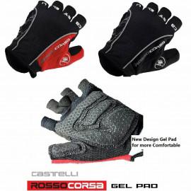 image of Castelli Rosso Corsa Gel Pad Glove