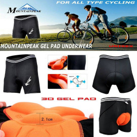 image of Mountainpeak Unisex Cycling Underwear with 3D Gel Pad