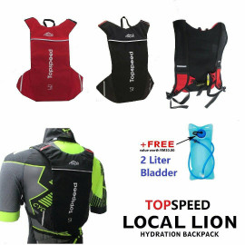image of Topspeed Locallion Hydration Backpack + free Water Bladder