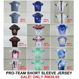 image of PRO TEAM SHORT SLEEVE JERSEY TOPS