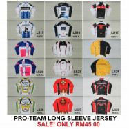 image of PRO TEAM LONG SLEEVE JERSEY TOPS