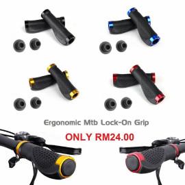image of Ergonomic MTB Lock-On Grip