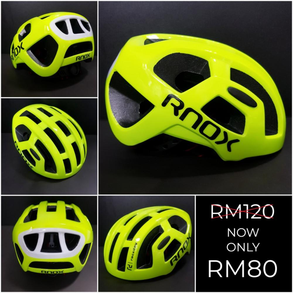RNOX RACEDAY HELMET Sale! Now only RM80.00