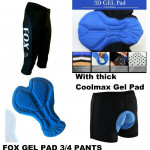 FOX GEL PAD 3/4 PANTS