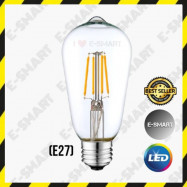 image of E-SMART ST64 LED FILAMENT VINTAGE RETRO BULB [E27]