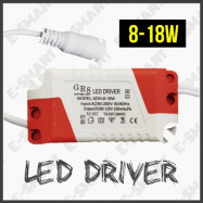 image of LED LAMP DRIVER POWER SUPPLY ADAPTER LIGHTING TRANSFORMER 8-18W AC-DC