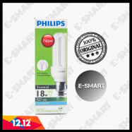 image of PHILIPS 18W ENERGY SAVING ESSENTIAL 3U DAY LIGHT / WARM WHITE (E27)