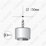 """6"""" 18W LED DOWNLIGHT ROUND/SQUARE 6500K DAYLIGHT (CUT OUT SIZE D150MM) LAMPU LED"""