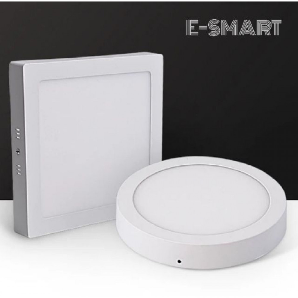 E-SMART 12W/18W/20W/24W LED SURFACE DOWNLIGHT ROUND/SQUARE LAMPU SILING