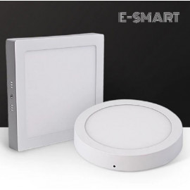 image of E-SMART 12W/18W/20W/24W LED SURFACE DOWNLIGHT ROUND/SQUARE LAMPU SILING