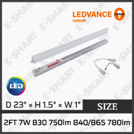 image of OSRAM LED T5 7W 2FT 3000K/6500K (ENERGY SAVING)