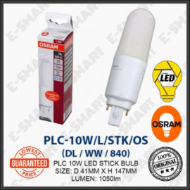 image of OSRAM PL-C LED STICK 10W DAYLIGHT COOLWHITE WARMWHITE (G24) MENTOL LED PLC