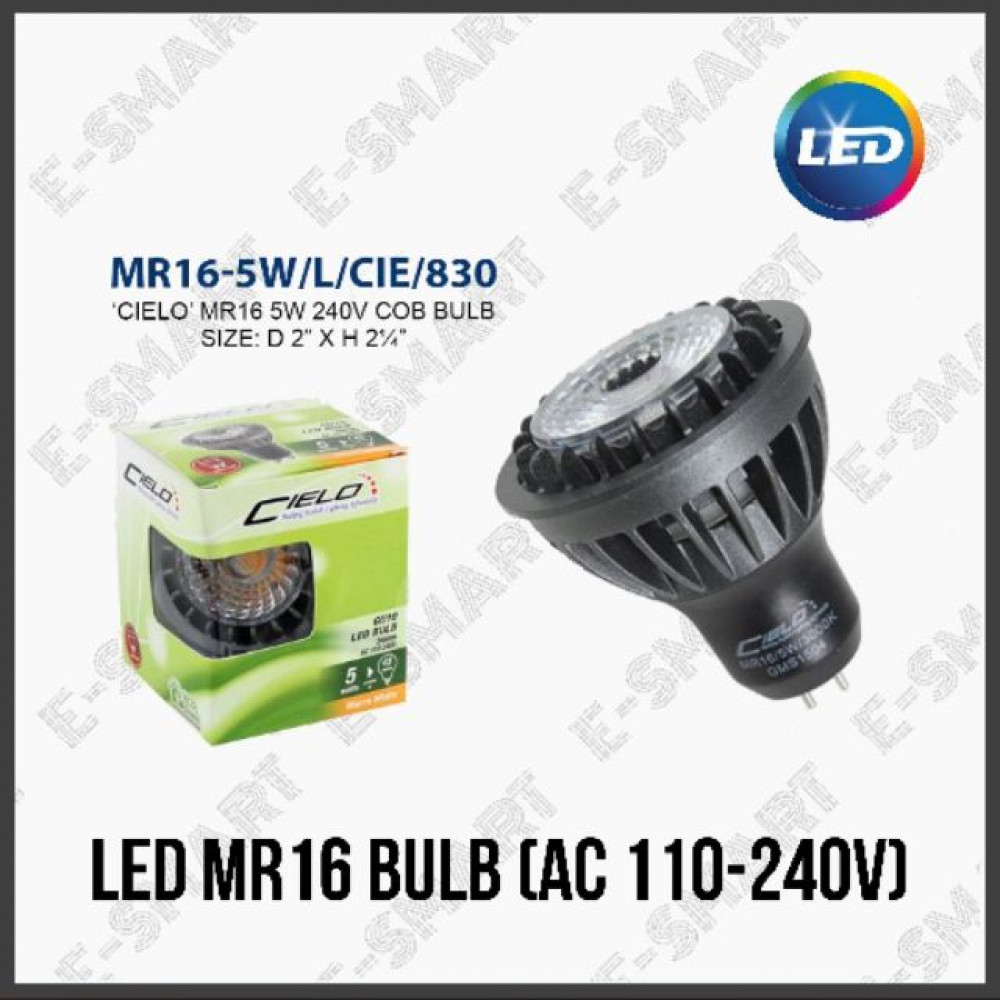 5W MR16 COB LED BULB (AC 110-240V)