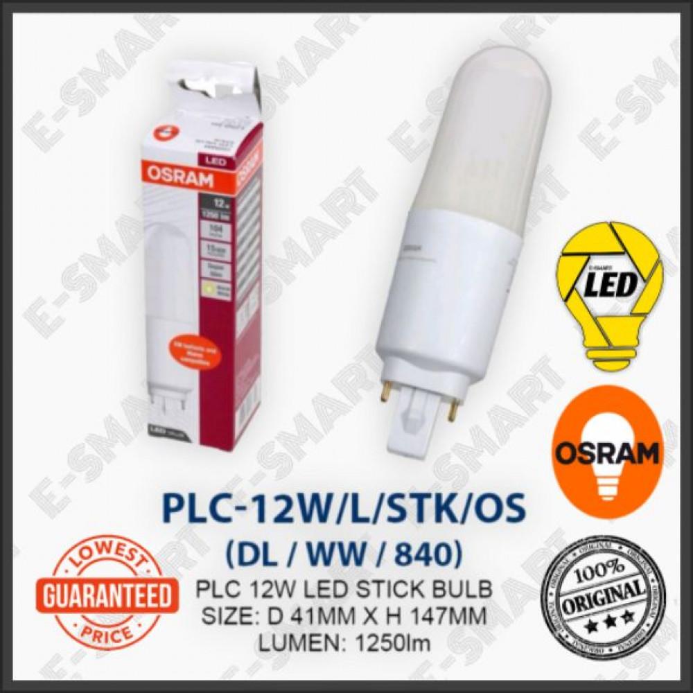 OSRAM PL-C LED STICK 12W DAYLIGHT COOLWHITE WARMWHITE (G24) MENTOL LED PLC