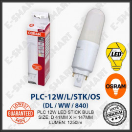 image of OSRAM PL-C LED STICK 12W DAYLIGHT COOLWHITE WARMWHITE (G24) MENTOL LED PLC