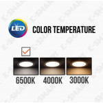 OSRAM LED T5 10W 3FT 3000K/6500K (ENERGY SAVING) LEDVANCE