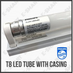 10PCS PHILIPS ECOFIT 16W T8 LED TUBE COOL DAYLIGHT 4FT 1200MM