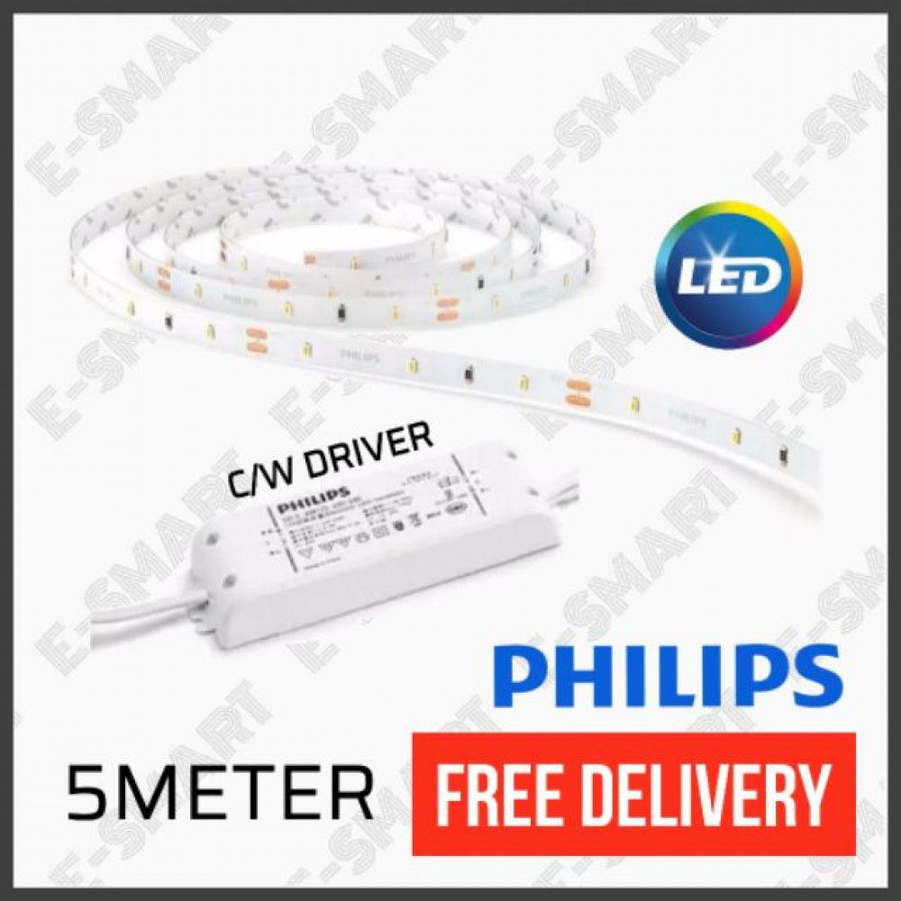 PHILIPS 31059 LINEA LED STRIP 18W 3000K 5METER (5M LED TAPE) 3M DOUBLE SIDE TAPE