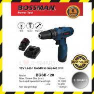 image of Bossman BGSB-120 Impact Cordless Drill Driver 12V