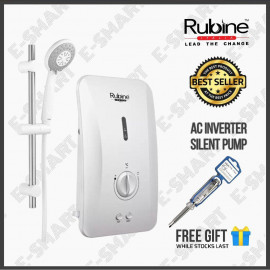 image of Rubine RWH-FS362A Flusso Water Heater with Pump (Inverter Pump) Pemanas Air