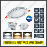 image of 30PCS 4inch 12W LED Downlight Round (DayLight) *SurgeProtected