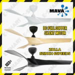 "MAVA ZOLLA 52"" DC CEILING FAN WITH REMOTE CONTROL KIPAS SILING KIPAS MAVA"