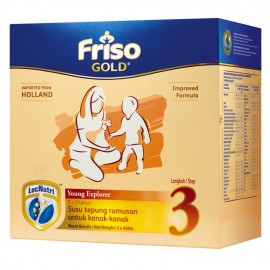image of Friso Gold Young Explorer STEP 3 MILK POWDER (1+ Year) 1.2kg