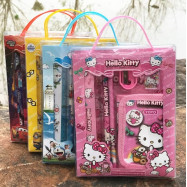 image of Kids Stationery Set Birthday Party Gift Bag Wallet Set Mickey Frozen Kitty Pony