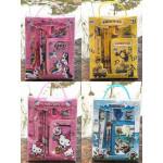 Kids Stationery Set Birthday Party Gift Bag Wallet Set Mickey Frozen Kitty Pony