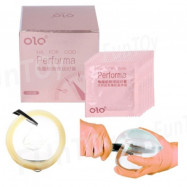 image of OLO Performa Ultra Thin Hyaluronic Acid Latex Condoms
