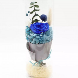 image of Preserved Flower In Glass with LED Light