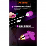 Safiman wireless USB rechargable vibrator egg