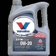 image of Valvoline SynPower Motor Oil SAE 0W-20 4L