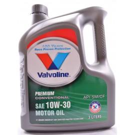 image of Valvoline 10W-30 Premium Conventional Motor Oil ( 3Litre )