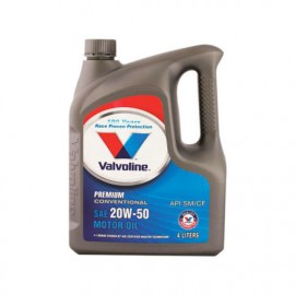 image of Valvoline 20W50 Premium Conventional Motor Oil 4L SN