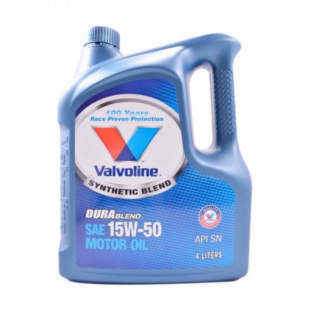 Valvoline 15W50 Durablend Semi Synthetic SN 4L