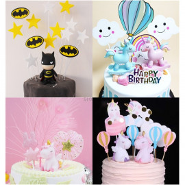 image of 【READY STOCK】DIY Cute Disney Cartoon Birthday Cake Display