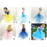 【READY STOCK】Disney Princess Happy Birthday Cake Topper / Cake's Stand