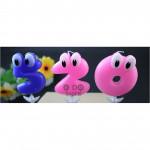 【READY STOCK】Cute Big Eye Numbering Birthday Cake Candle