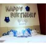 【READY STOCK】Adult Birthday Party Balloon Set ( Blue )