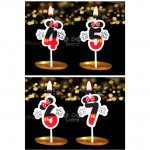【READY STOCK】Minnie Birthday Numbering Cake Candle