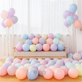 image of 【READY STOCK】10 inch Macaroon Colour Latex Balloon